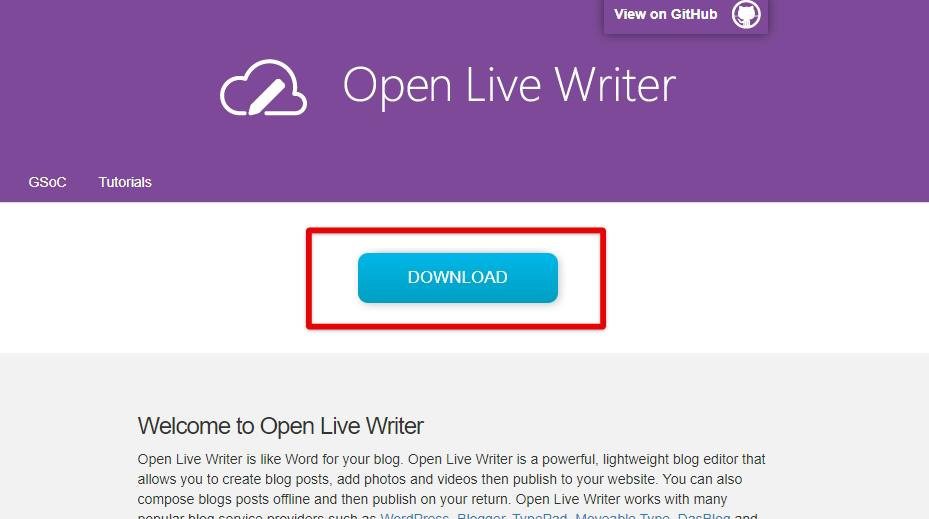 Open Live Write-ダウンロード
