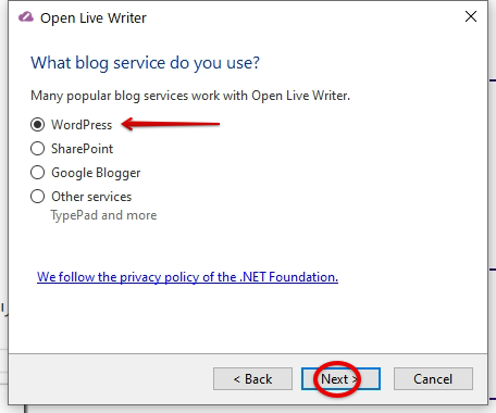 Open Live Writeーブログー選ぶ